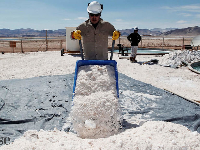 Lithium gold rush: Inside the race to power EVs