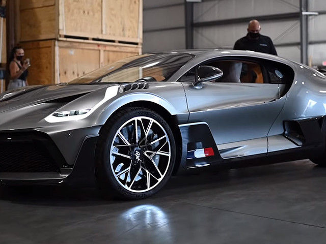 This Is The First Bugatti Divo To Arrive In The United States