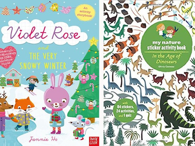 Sticky fingers: 10 awesome sticker books your preschooler will go nuts for
