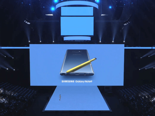 Meet your new superphone: Samsung's new Galaxy Note9 announced