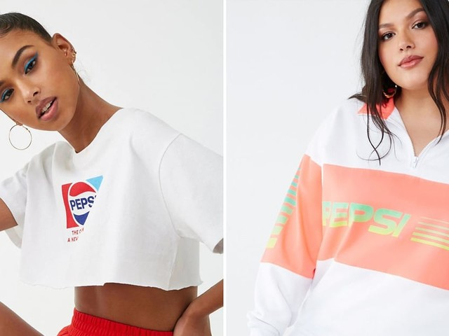 Forever 21's Pepsi Collection Will Bring You Back to Those Iconic Britney Commercials