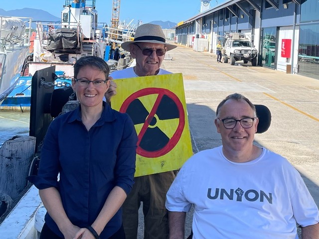 Socialist Alliance candidate, councillor, say 'no' to nuclear submarines