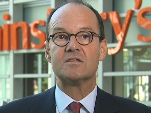 Sainsbury's chief executive Mike Coupe to retire