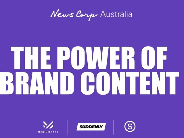 Branded content a powerful tool in purchase decision-making for Aussies, News Corp reports