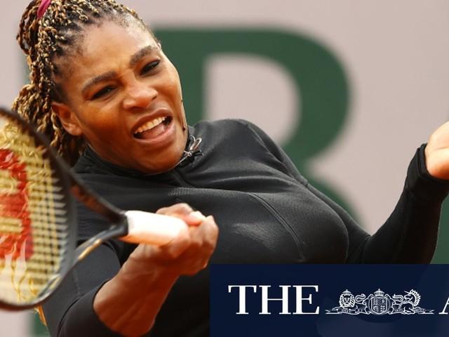 'A runaway train': Serena Williams wins opener in Paris