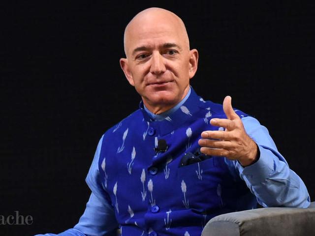Bezos's wealth tops pre-divorce record at $171 bn