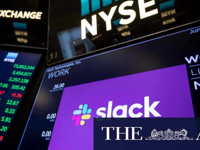 Salesforce to buy work chat service Slack for $37.6 billion