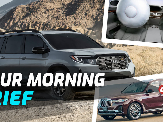 2022 Honda Passport Unveiled, NHTSA Investigating Airbag Inflators, And Japan's New Special BMW X7: Your Morning Brief