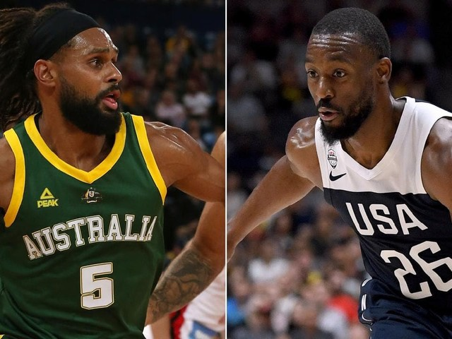 Australian Boomers vs Team USA live coverage - FIBA World Cup 2019 warmup game