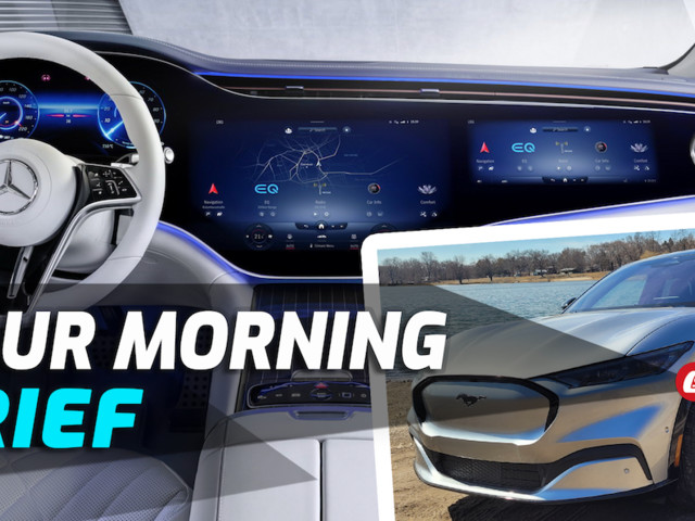Mercedes EQS, Driving The Mustang Mach-E, Fast Five Corvette, BMW M4 V M440i: Your Morning Brief