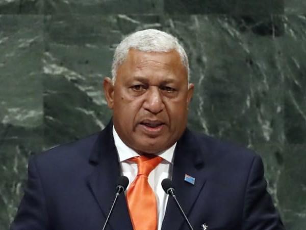 Fiji's PM Bainimarama wins narrow majority