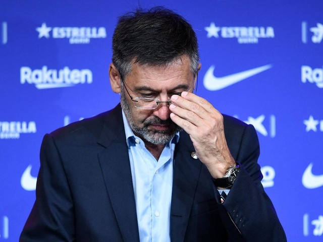 Ex-Barcelona boss spends night in jail as 'Barcagate' scandal deepens