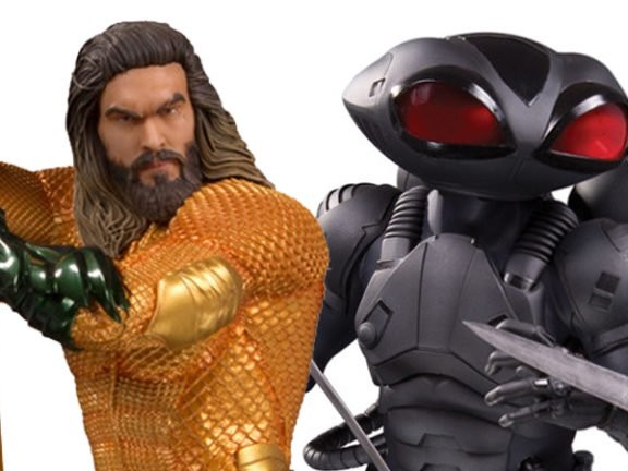 DC Collectibles Gives Us Our Best Look Yet At The AquamanMovie's Comic-Inspired Costumes