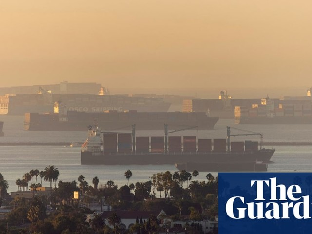 A record number of cargo ships are stuck outside LA. What's happening?