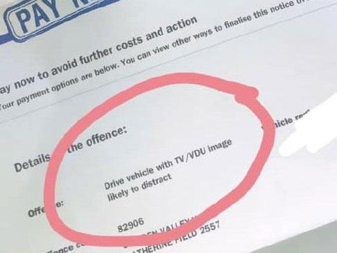 Sydney driver cops 'ridiculous' $337 fine