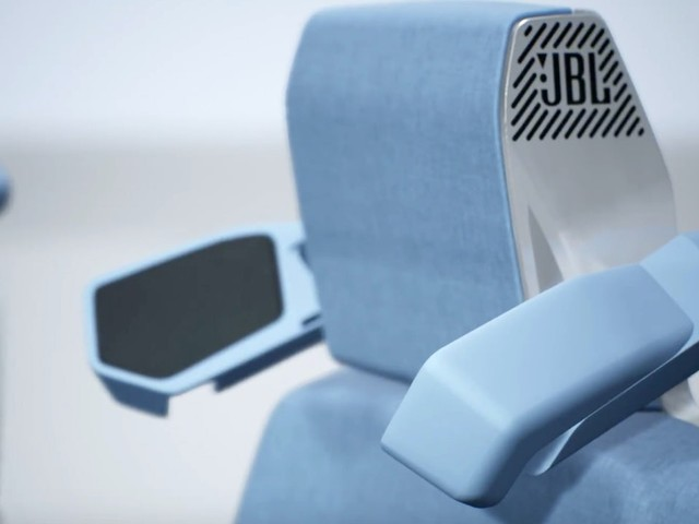 Retractable Headrest Speaker Wings Give Every Car Passenger Their Own Stereo System