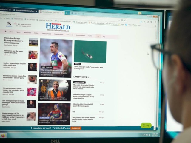 Google's digital boost for local news