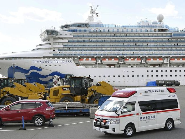 Two cruise ship passengers have died of coronavirus in Japan
