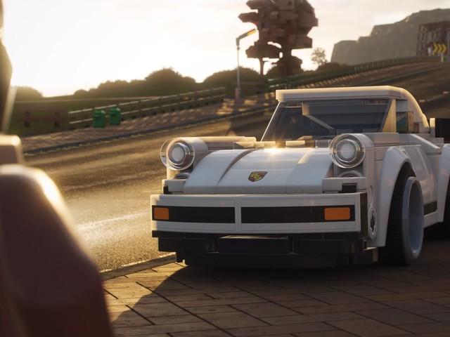 Lego Porsche 911 Turbo 3.0 Joins Forza Horizon 4