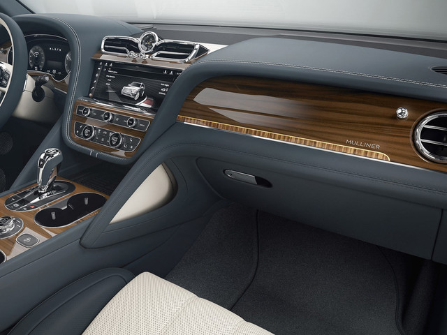 Thanks To Mulliner, Your Bentley Bentayga Can Have Stone Veneers and Tweed Accents