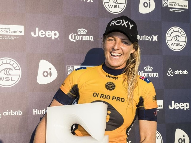 Stephanie Gilmore has focus back as she wins Rio Pro