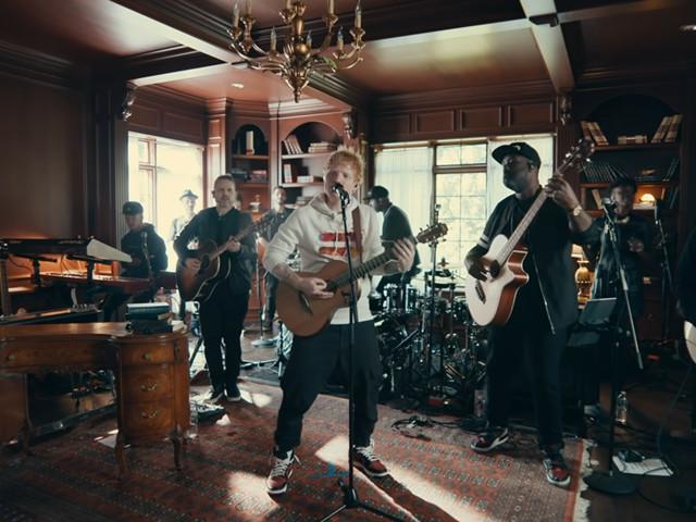 Watch Ed Sheeran's Long-Awaited Tiny Desk (Home) Concert