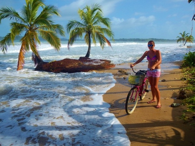 Waterfalls and surfing in Panama