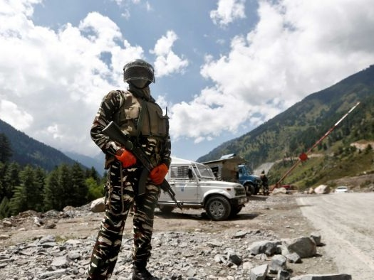 'A minor face-off': Indian and Chinese troops clash in disputed area of border