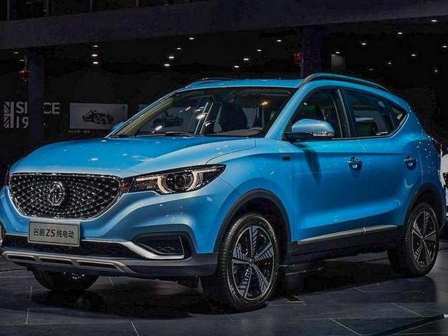 MG eZS SUV Revealed, India Bound In 2020