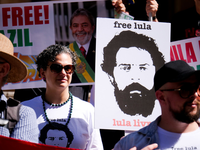 Free Lula, democracy in Brazil
