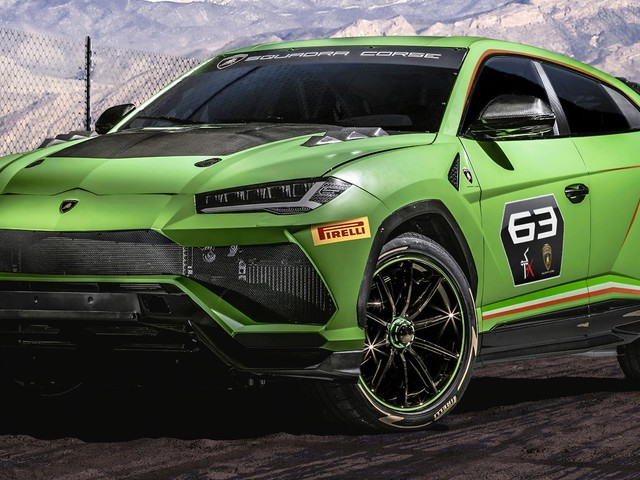 Lamborghini Unveils Urus ST-X Concept For Racing Series That Combines On And Off-Road Driving
