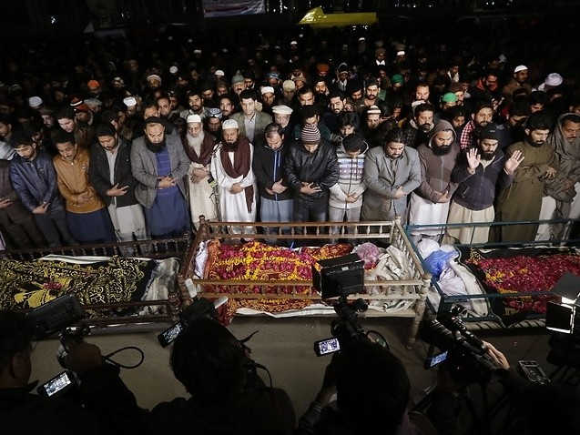 Pakistani officers arrested after children who survived shooting contradict police