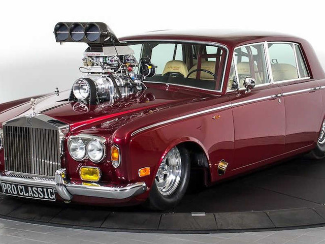 OMG! Rolls-Royce Drag Car Is The Textbook Definition Of Crazy