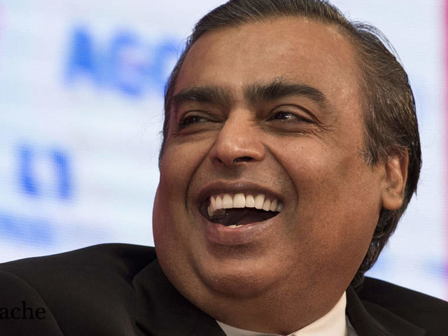 The success story of India's richest man