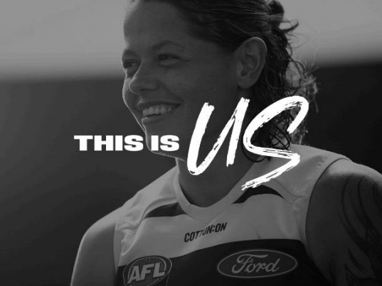 AFLW players question traditional expectations of women in season launch campaign
