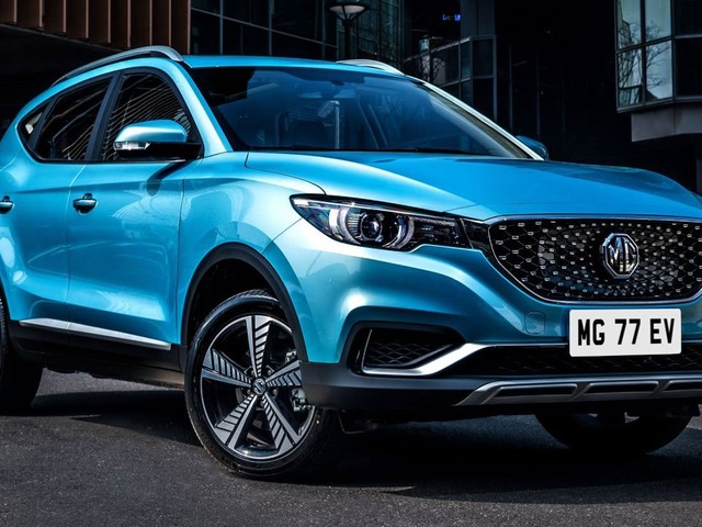 Battery-Powered MG ZS EV Arrives In The UK, Reservations Now Open