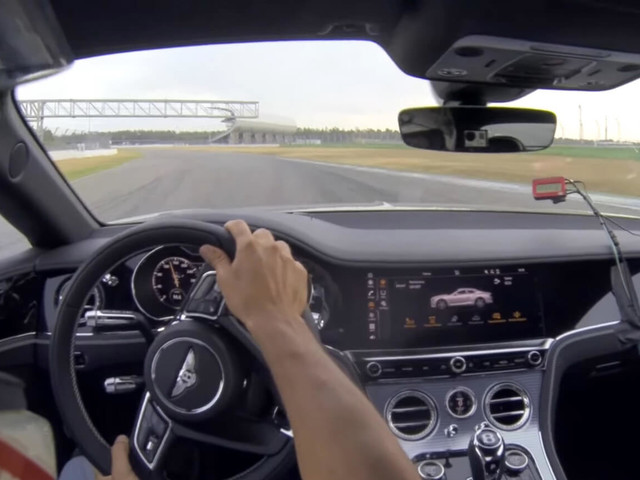 Bentley Continental GT V8 Battles The Clock At The Hockenheim GP