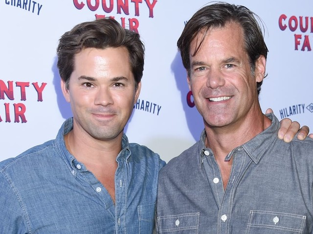 Andrew Rannells and Tuc Watkins Are the Cutest Couple Both Onscreen and IRL