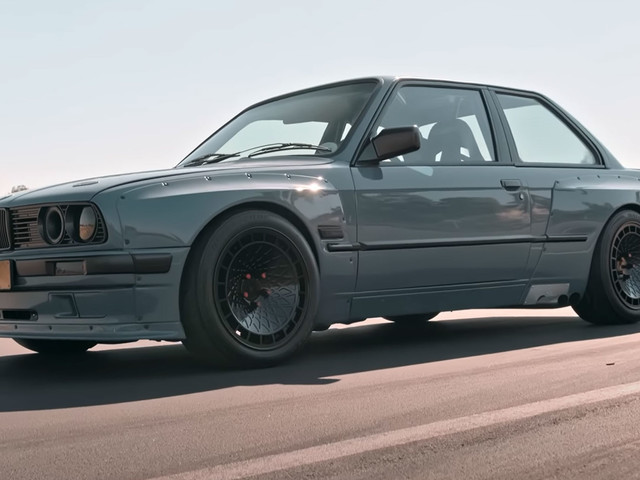 Widebody BMW E30 3-Series With A Supercharged Lexus V8 Sounds Like An Interesting Mix