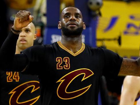 King James leads Cavs to promised land
