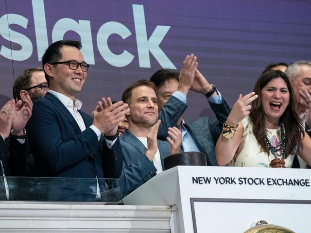 Looks Like Salesforce Is Buying Slack