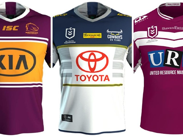 NRL 2020 jerseys: Every club's home and away design