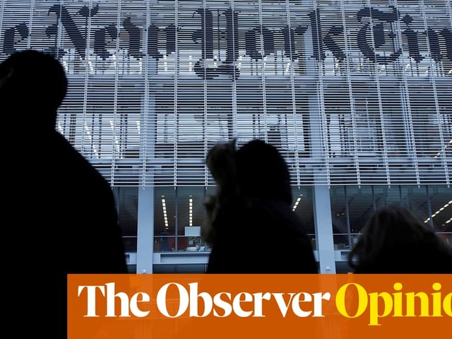 New York Times cartoon ban leads to a world where we say nothing at all | Kenan Malik