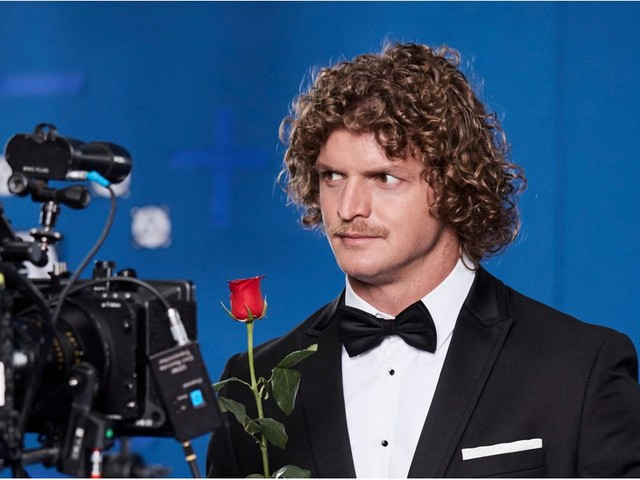 """Nick Cummins Is """"As Nervous As a Duck in a Doona Factory"""" in the New Bachelor Promo"""