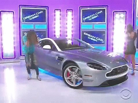 Watch A Woman Lose Her Shit Winning A $120,000 Aston Martin On The Price Is Right