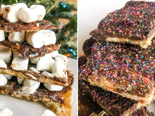 This Christmas Cracker Bark Is So Good, Buddy the Elf Would Make It a New Food Group