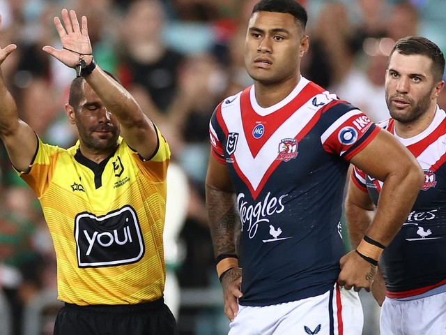 'Be warned': Send-offs on the cards as NRL cracks down on high tackles and six-again rule
