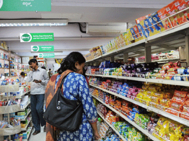 Increased demand for groceries lifts household consumption to a two year high in April-June