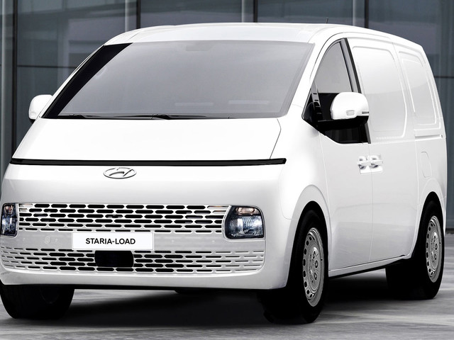 The New 2022 Hyundai Staria-Load Is One Funky Looking Commercial Van
