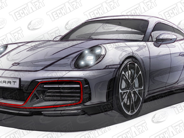 New 2021 Porsche 911 Turbo S Sings To TechArt's Tune Of 700 Horses